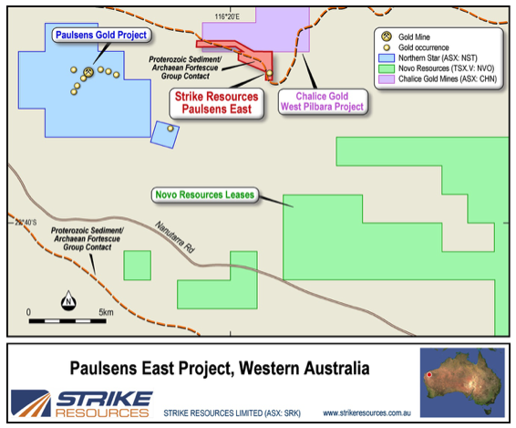 Pilbara Lithium and Gold | strikeresources com au